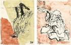 Georg Baselitz: Visit from Hokusai, Geneva