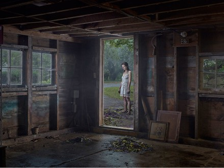 Gregory Crewdson, The Shed, 2013 Digital pigment print, Image size: 37 ½ × 50 inches (95.3 × 127 cm), edition of 3 + 2 APs© Gregory Crewdson