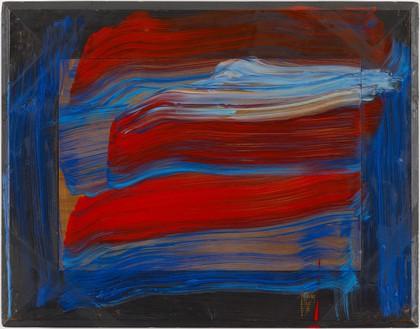 Howard Hodgkin, Morning, 2015–16 Oil on wood, 19 ⅞ × 25 ½ inches (50.5 × 64.8 cm)© Howard Hodgkin. Photo: Prudence Cuming Associates Ltd