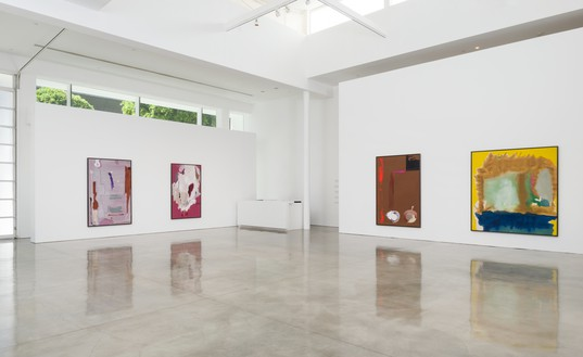 Installation view Artwork © 2016 Helen Frankenthaler Foundation, Inc./Artists Rights Society (ARS), New York. Photo: Jeff McLane