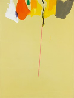 Helen Frankenthaler, Rapunzel, 1974 Acrylic on canvas, 108 × 81 inches (274.3 × 205.7 cm)© 2016 Helen Frankenthaler Foundation, Inc./Artists Rights Society (ARS), New York. Photo: Rob McKeever