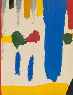 Helen Frankenthaler, Parade, 1965 Acrylic on canvas, 73 × 56 ½ inches (185.4 × 143.5 cm)© 2016 Helen Frankenthaler Foundation, Inc./Artists Rights Society (ARS), New York. Photo: Rob McKeever