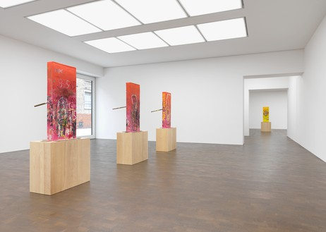 Installation view Artwork © Mark Grotjahn. Photo: Mike Bruce
