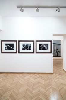 Installation view Artwork © Peter Lindbergh, photo by Silia Psychi