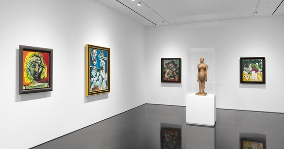 Installation view Artwork © 2016 Estate of Pablo Picasso/Artists Rights Society (ARS), New York