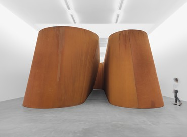 Richard Serra: NJ-2, Rounds: Equal Weight, Unequal Measure, Rotate, Britannia Street, London
