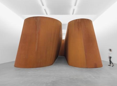 Installation view with NJ-2 (2016) Artwork © Richard Serra. Photo: Mike Bruce