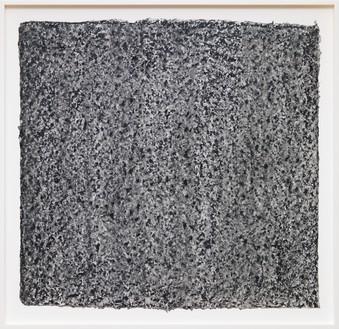 Richard Serra, Ramble 4–26, 2015 Litho crayon and pastel powder on paper, 35 ½ × 36 ¾ inches (90.2 × 93.3 cm)© Richard Serra/Artists Rights Society (ARS), New York. Photo: Rob McKeever