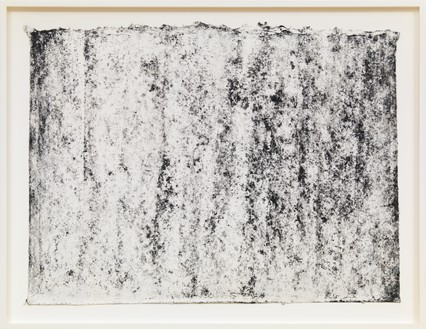 Richard Serra, Ramble 3–53, 2015 Litho crayon and pastel powder on paper, 20 ¾ × 28 ¼ inches (52.7 × 71.8 cm)© Richard Serra/Artists Rights Society (ARS), New York. Photo: Rob McKeever
