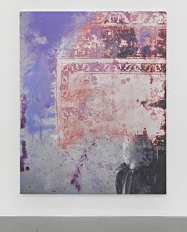 Rudolf Stingel, Untitled, 2015 Oil and enamel on canvas, 95 × 76 inches (241.3 × 193 cm)© Rudolf Stingel. Photo: John Lehr, courtesy the artist