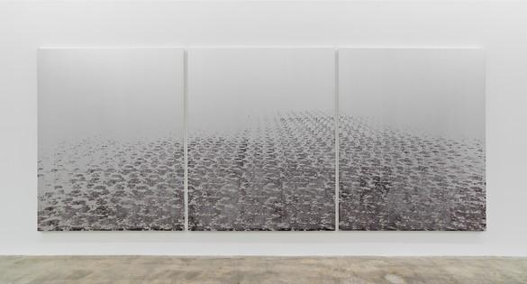 Installation view Artwork © Rudolf Stingel. Photo: John Lehr