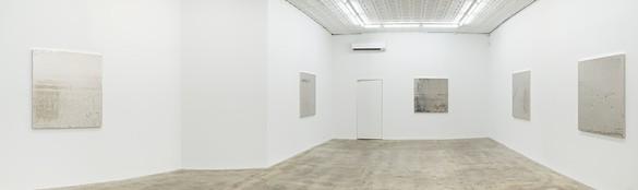 Installation view Artwork © Rudolf Stingel