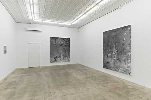 Installation view © Rudolf Stingel. Courtesy the artist
