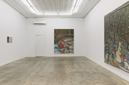 Installation view Artwork © Rudolf Stingel. Courtesy the artist