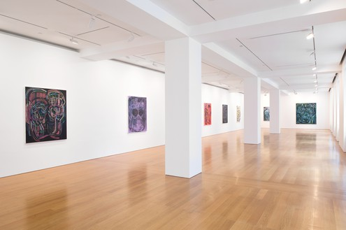Installation view Artworks © Thomas Houseago