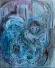 Thomas Houseago: Psychedelic Brothers – Drawn Paintings, Hong Kong