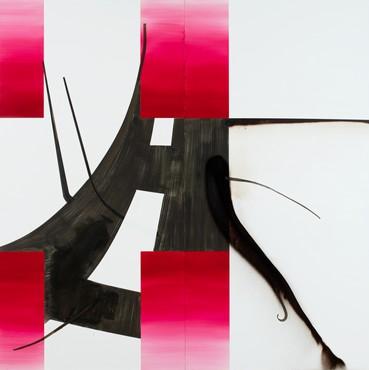 Albert Oehlen: Elevator Paintings: Trees, West 21st Street, New York