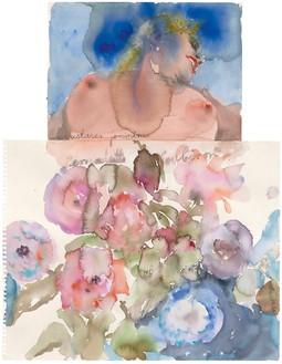 Anselm Kiefer, Extases féminines (Feminine Ecstasies), 2013 Watercolor on paper, 26 × 20 inches (66 × 50.7 cm)© Anselm Kiefer. Photo: Charles Duprat