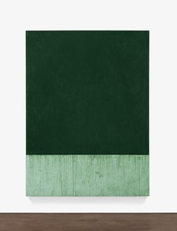 Brice Marden, Winsor + Newton, 2016–17 Oil on linen, 96 ⅛ × 72 inches (244 × 182.9 cm)© Brice Marden/Artists Rights Society (ARS), New York, and DACS, London 2017