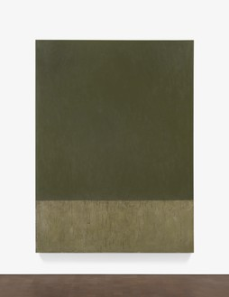 Brice Marden, Williamsburg, 2016–17 Oil on linen, 96 ⅛ × 72 inches (244 × 182.9 cm)© Brice Marden/Artists Rights Society (ARS), New York, and DACS, London 2017