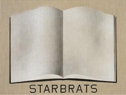 Ed Ruscha, Starbrats Open Book, 2003 Acrylic on linen, 18 × 24 inches (45.7 × 61 cm)© Ed Ruscha. Photo: Paul Ruscha
