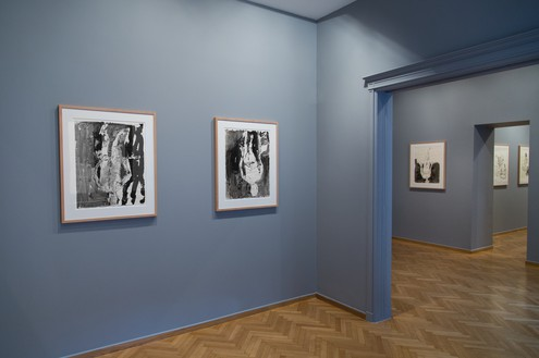 Installation view Artwork © Georg Baselitz