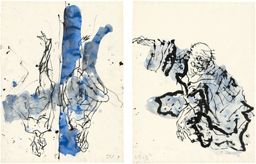 Georg Baselitz: Recent Works on Paper, Merlin Street, Athens