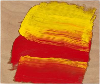 Howard Hodgkin, Now, 2015–16 Oil on wood, 15 ¼ × 18 ¼ inches (38.7 × 46.4 cm)© Howard Hodgkin
