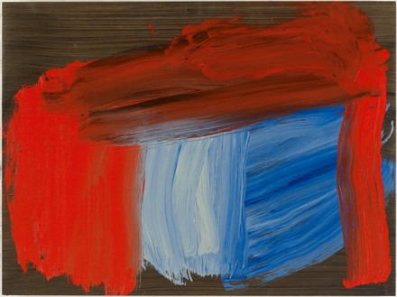 Howard Hodgkin, Always Afternoon, 2016 Oil on wood, 27 ⅜ × 36 ⅝ inches (69.5 × 93 cm)© Howard Hodgkin. Photo: Prudence Cumming Associates LTD