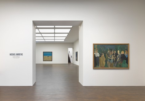 Installation view All artworks © The Estate of Michael Andrews. Courtesy James Hyman Gallery, London., photo by Mike Bruce