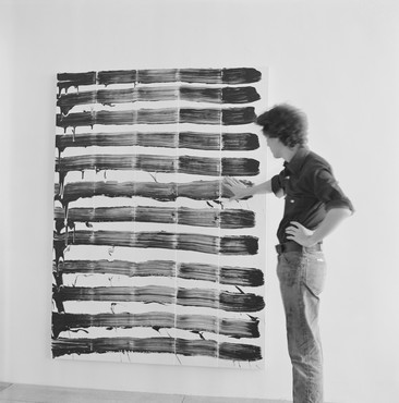 Painting Paintings (David Reed) 1975: Curated by Katy Siegel and Christopher Wool, 980 Madison Avenue, New York