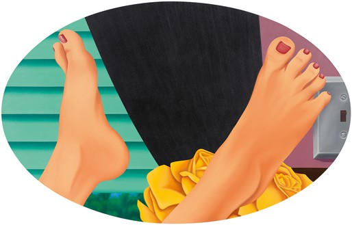 Tom Wesselmann, Bedroom Painting #21, 1969–75 Oil on canvas, 59 ¾ × 94 inches (151.8 × 238.8 cm)© The Estate of Tom Wesselmann/Licensed by VAGA, New York