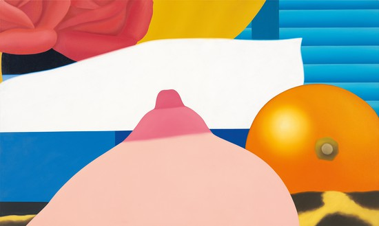 Tom Wesselmann, Bedroom Painting #4, 1968 Oil on canvas, 36 × 60 inches (91.4 × 152.4 cm)© The Estate of Tom Wesselmann/Licensed by VAGA, New York. Photo: Jeffrey Sturges