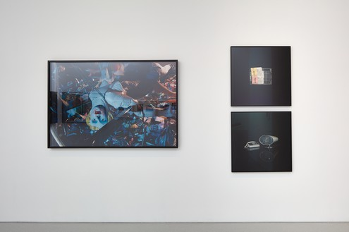 Installation view Artwork, left to right: © 2018 Cindy Sherman, © Taryn Simon. Photo: Johnna Arnold