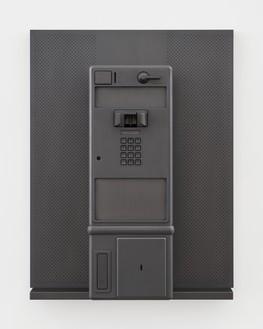 Adam McEwen, Payphone, 2018 Graphite, 26 ⅛ × 20 × 10 ⅛ inches (66.2 × 50.8 × 25.6 cm), edition of 3 + 2 APs© Adam McEwen. Photo: Jeff McLane