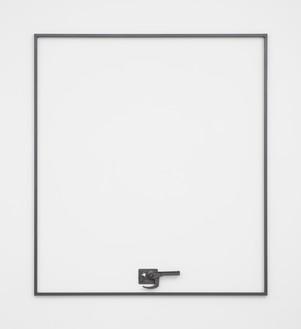 Adam McEwen, I'M NOT THERE, 2018 Graphite, 92 × 82 × 2 inches (233.7 × 208.3 × 5.1 cm)© Adam McEwen. Photo: Jeff McLane