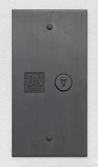 Adam McEwen, Down Elevator, 2016 Graphite, 9 ¾ × 5 × ½ inches (24.8 × 12.7 × 1.3 cm), edition of 5 + 2 APs© Adam McEwen. Photo: Rob McKeever
