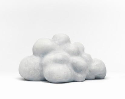 Urs Fischer, Low Lying Cloud, 2016 Cast bronze, acrylic primer, chalk gesso, rabbit skin glue, and oil paint, 8 ¼ × 15 ¼ × 7 ½ inches (21 × 38.7 × 19.1 cm), edition of 2© Urs Fischer. Photo: Mats Nordman