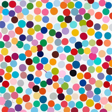 Damien Hirst: Colour Space Paintings, 555 West 24th Street, New York