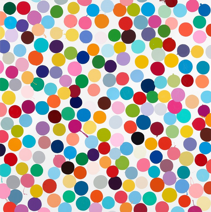 Damien Hirst Colour Space Paintings 555 West 24th Street New York May 4 August 10 2018 Gagosian