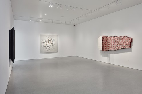 Installation view Artwork, left to right: © 2018 Richard Artschwager/Artists Rights Society (ARS), New York; © Adriana Varejão. Photo: Johnna Arnold