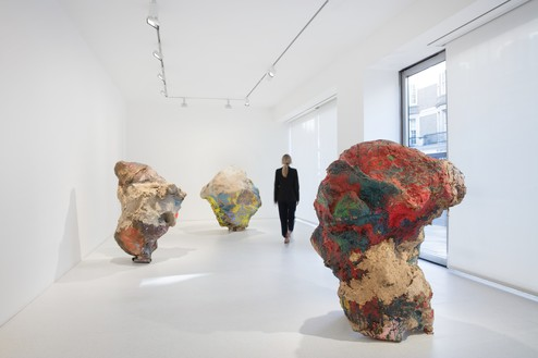 Installation view Artwork © Archiv Franz West. Photo: Lucy Dawkins