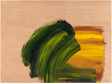 Howard Hodgkin, Don't Tell a Soul, 2016 Oil on wood, 27 ⅝ × 36 ½ inches (70.2 × 92.7 cm)© Howard Hodgkin Estate. Photo: Prudence Cuming Associates