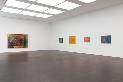 Installation view Artwork © Howard Hodgkin Estate. Photo: Lucy Dawkins