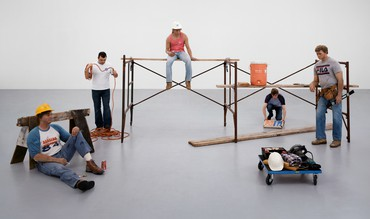I Don't Like Fiction, I Like History: Duane Hanson with Thomas Demand, Andreas Gursky, Sharon Lockhart, and Jeff Wall, Beverly Hills