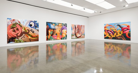 Installation view Artwork © Jeff Koons. Photo: Tom Powel Imaging