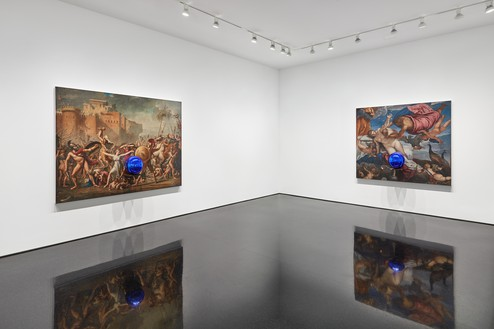 Installation view Artwork © Jeff Koons. Photo: Tom Powel