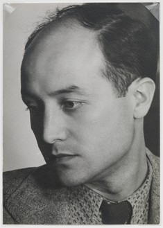 Man Ray, Noguchi, 1941 Vintage gelatin silver print, 6 ½ × 4 ⅝ inches (16.5 × 11.7 cm)© Man Ray Trust/Artists Rights Society (ARS), New York/ADAGP, Paris 2018
