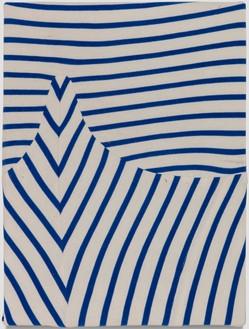 Piero Golia, Ferragosto Painting #1, 2018 Elastic cotton fabric, 16 × 12 inches (40.6 × 30.5 cm)© Piero Golia. Photo: Joshua White