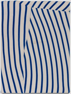 Piero Golia, Ferragosto Painting #2, 2018 Elastic cotton fabric, 16 × 12 inches (40.6 × 30.5 cm)© Piero Golia. Photo: Joshua White